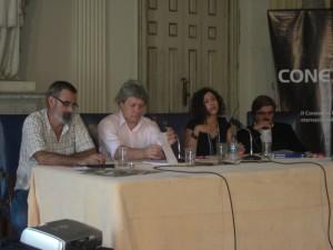 Carlos Pereiro, Claudiney Ferreira, Leila Lehnen e Pedro Serra.
